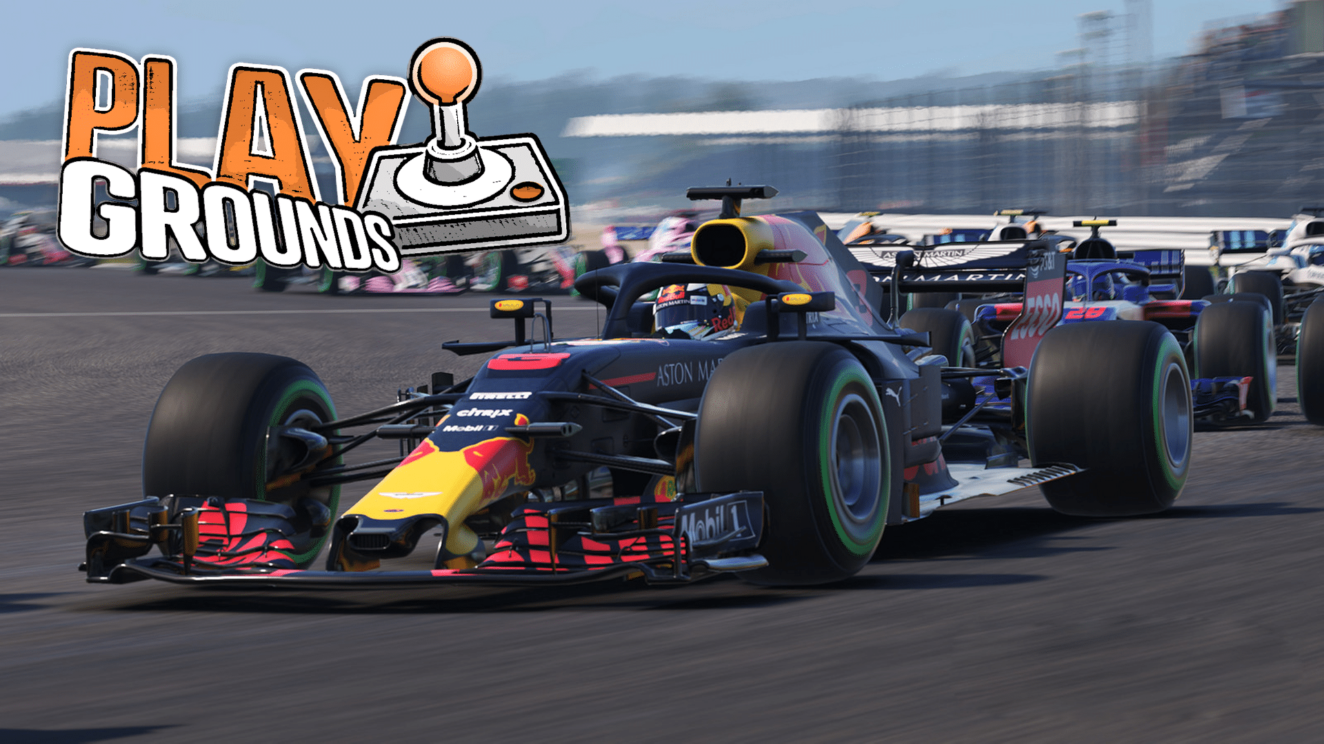PLAYgrounds - F1 2019 mit Marcel